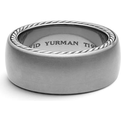 David Yurman Streamline Wide Band Ring