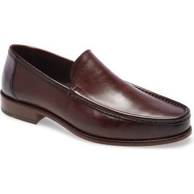 Bruno Magli Positano Venetian Loafer, Brown
