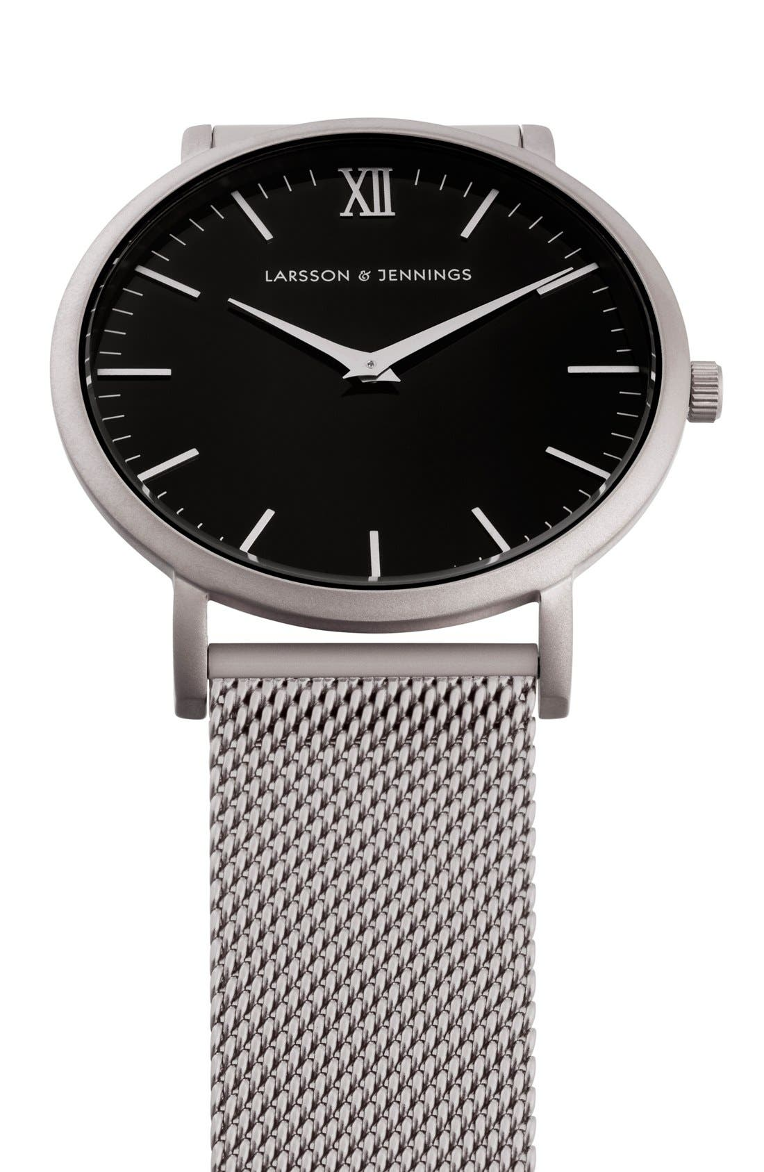 ,                             Lugano Mesh Strap Watch, 40mm,                             Alternate thumbnail 23, color,                             041
