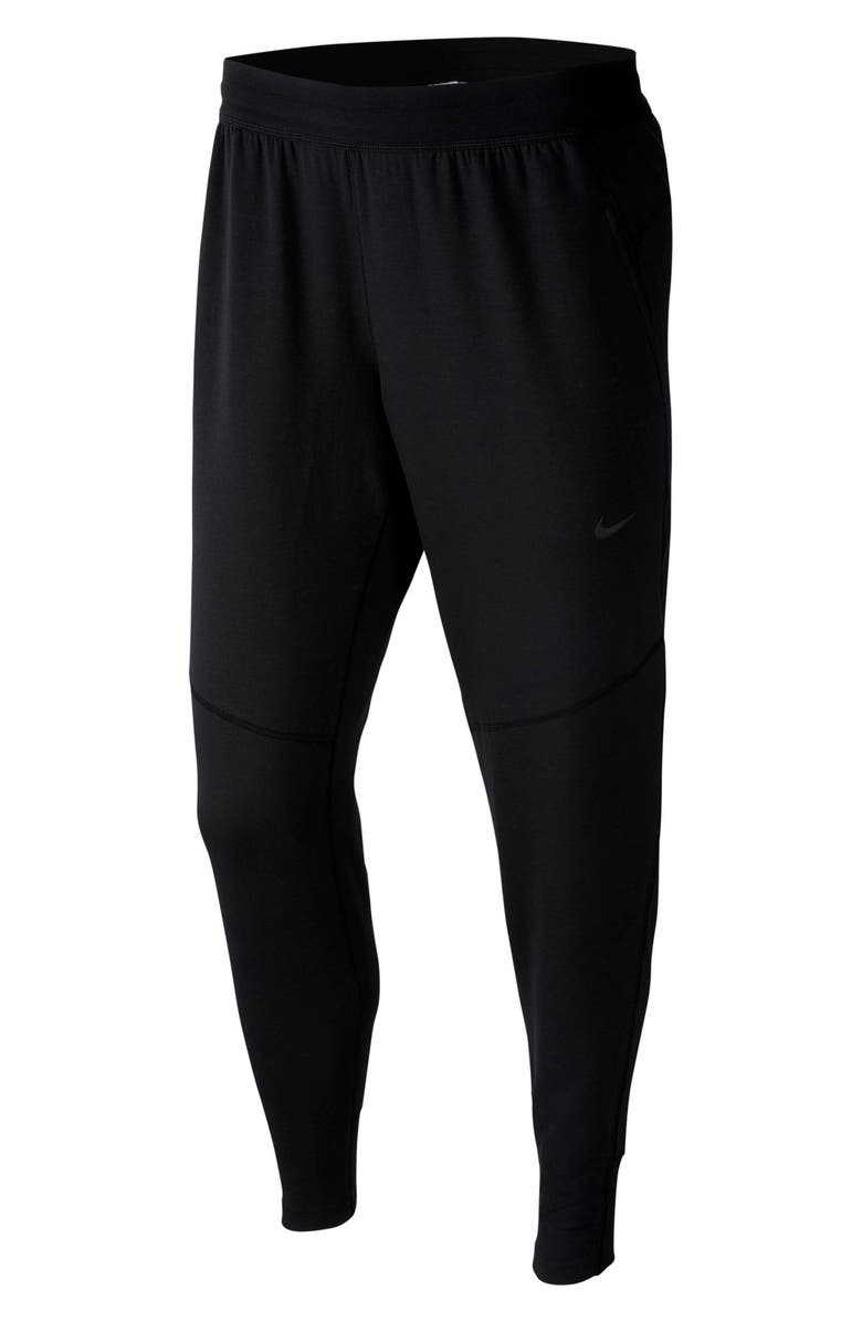 NIKE Dry HyperDry Yoga Pants, Main, color, BLACK