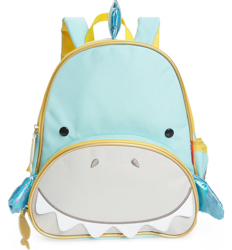 SKIP HOP ZOO<sup>®</sup> Shark Backpack, Main, color, MULTI