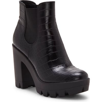 Jessica Simpson Miraney Chelsea Boot- Black