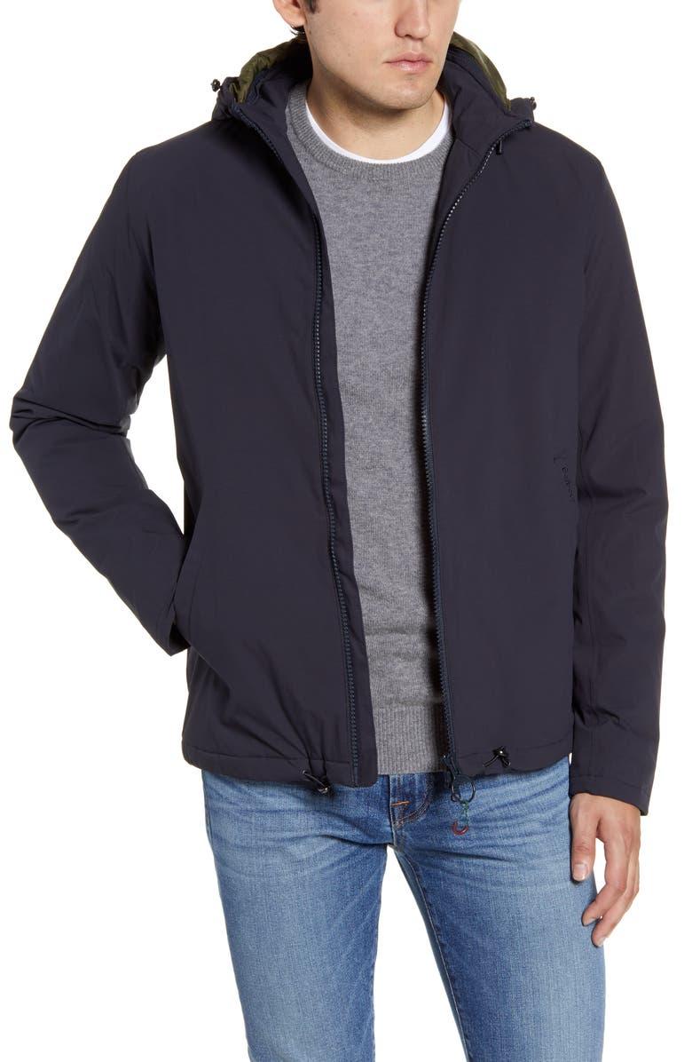 BARBOUR Whitburn Waterproof Jacket, Main, color, NAVY