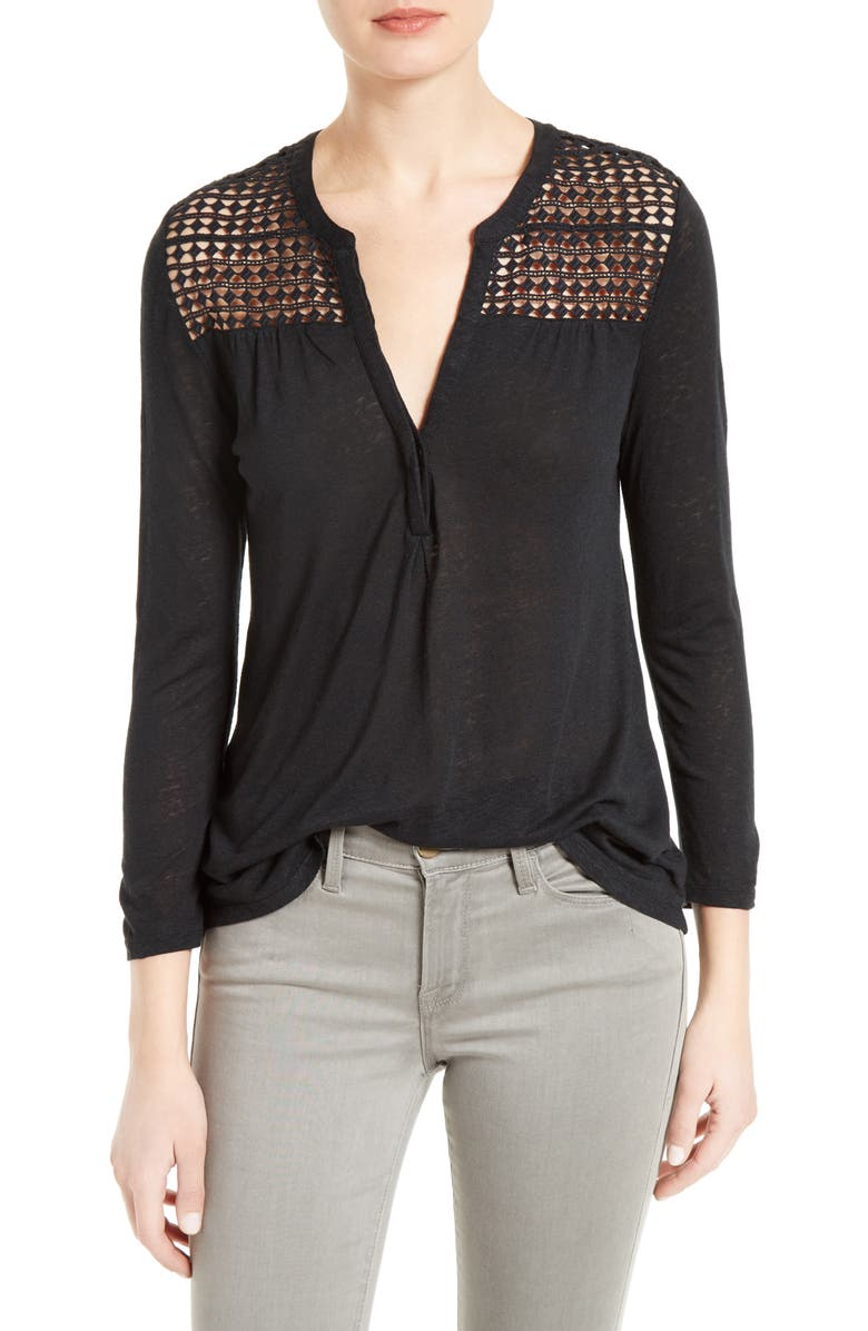 SOFT JOIE Aiyana Top, Main, color, 002