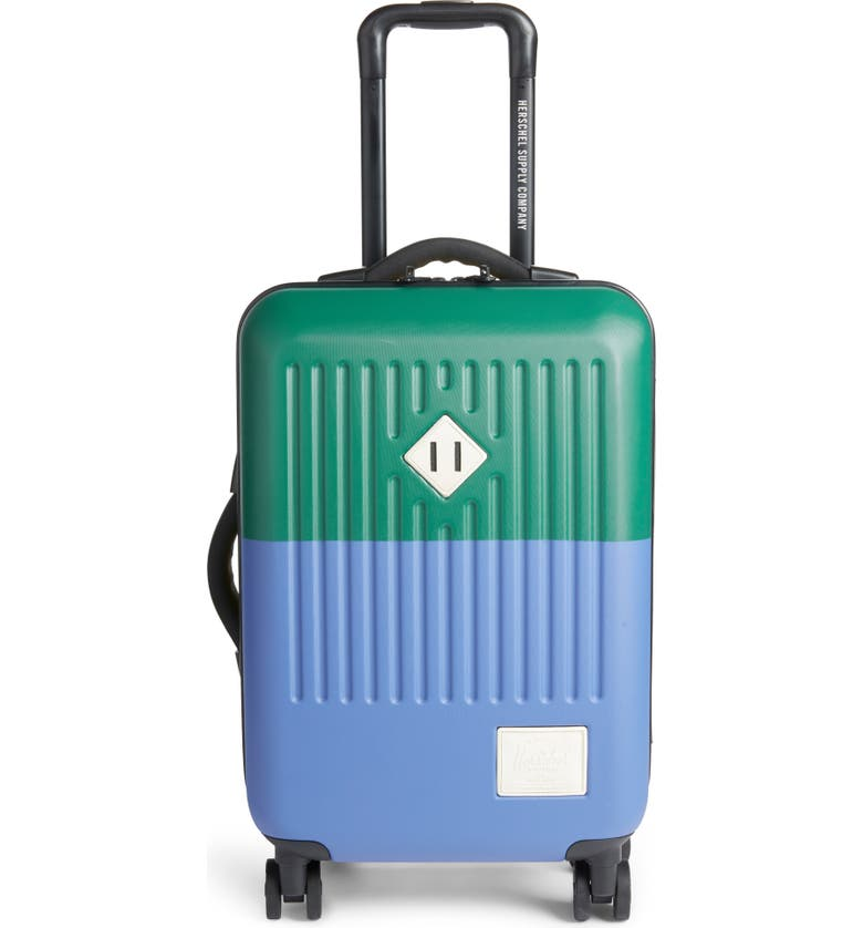 HERSCHEL SUPPLY CO. Small Trade 23-Inch Rolling Suitcase, Main, color, SULPHUR SPRING