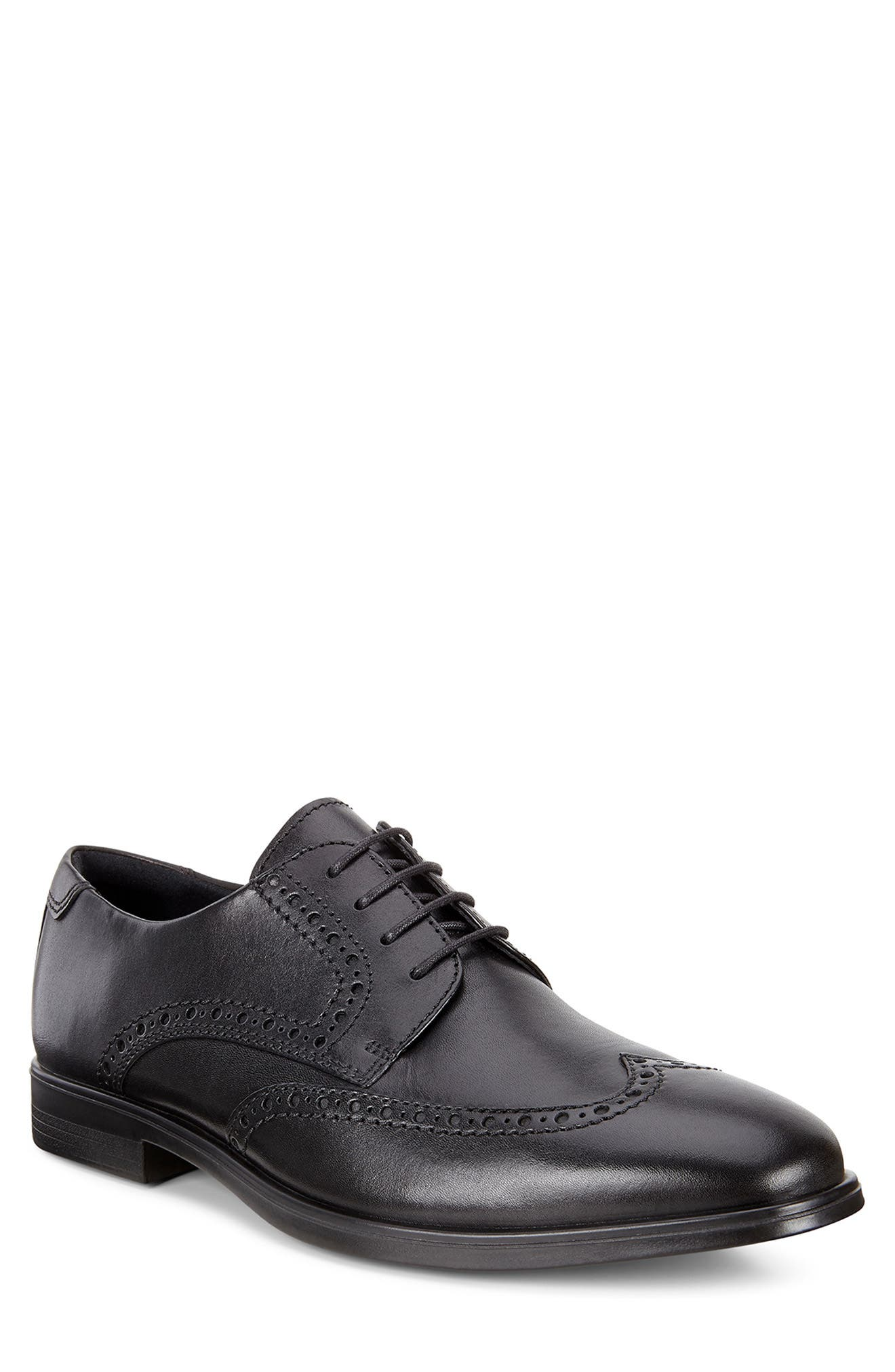 Image of ECCO Melbourne Leather Wingtip Derby