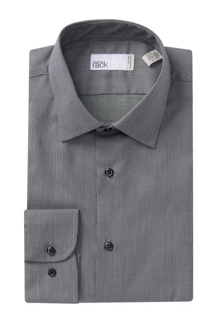 Image of Nordstrom Rack Solid Traditional Fit Dress Shirt