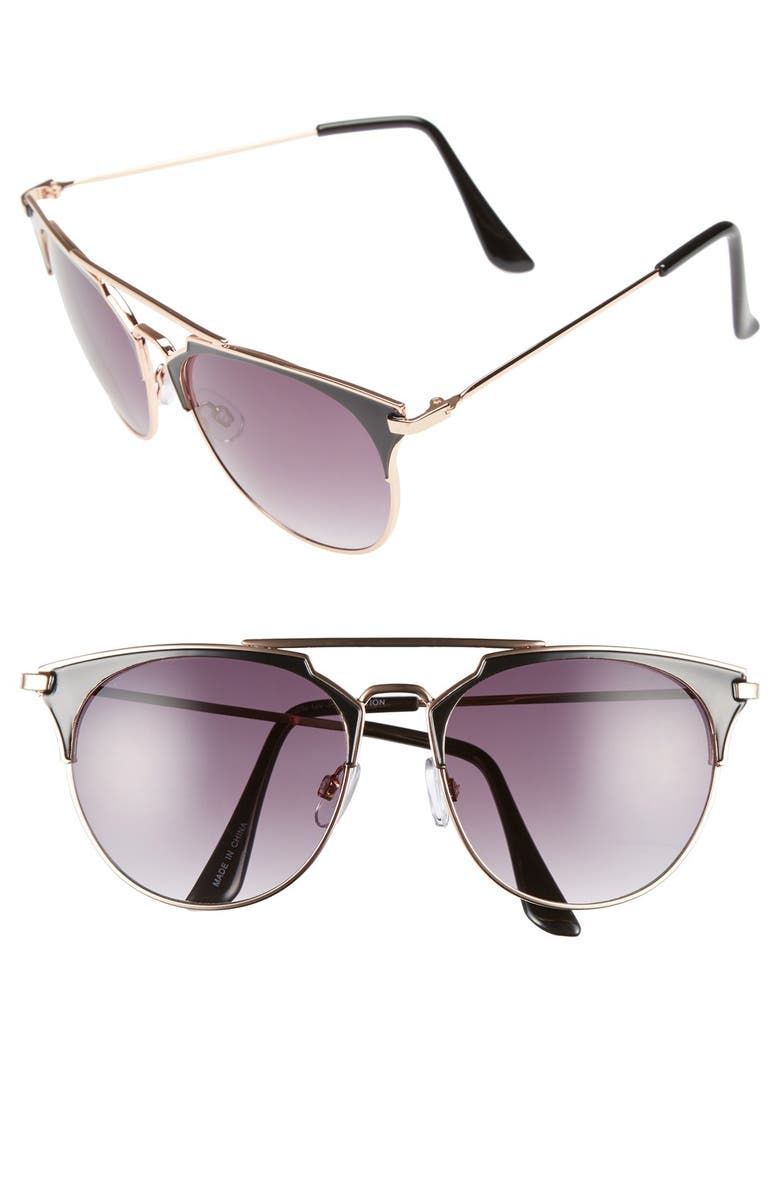 BP. Retro Sunglasses, Main, color, 001