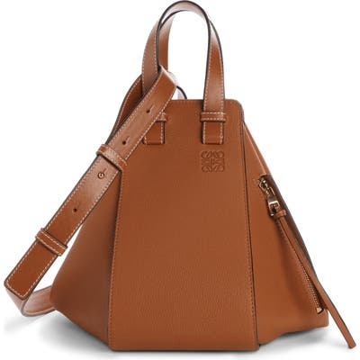 Loewe Hammock Small Leather Hobo - Beige