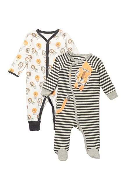 Image of koala baby Organic Cotton Coveralls - Set of 2