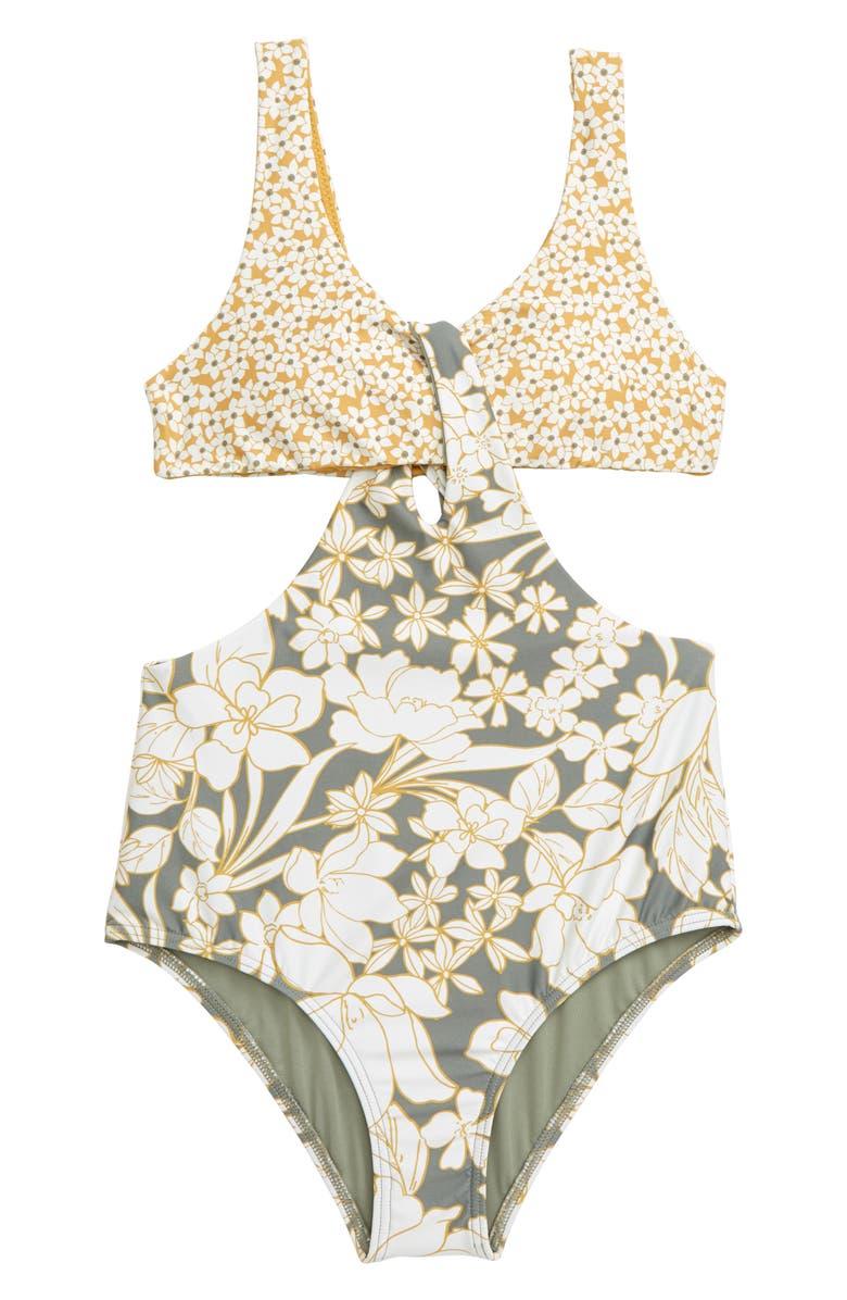 O'NEILL Embry One-Piece Swimsuit, Main, color, FOG