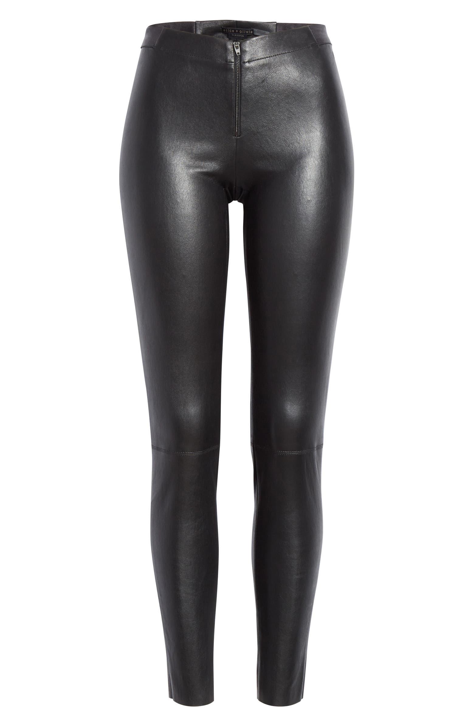 Leather Leggings ALICE + OLIVIA