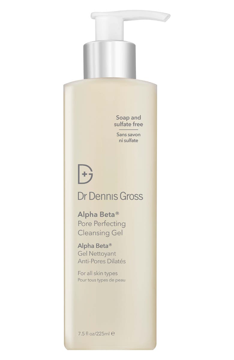 DR. DENNIS GROSS Skincare Alpha Beta<sup>®</sup> Pore Perfecting Cleansing Gel, Main, color, NO COLOR