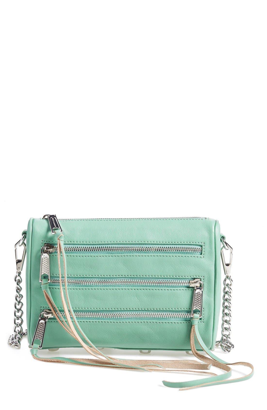 ,                             'Mini 5 Zip' Convertible Crossbody Bag,                             Main thumbnail 16, color,                             300