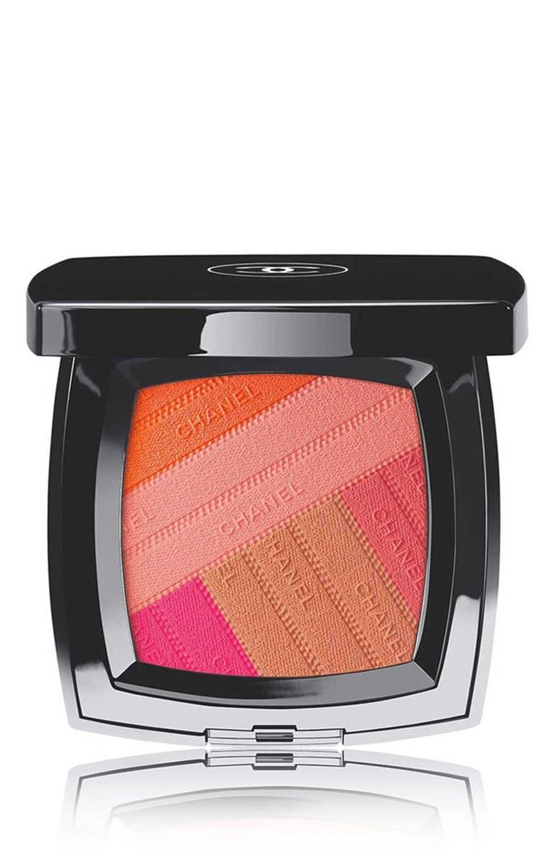 CHANEL SUNKISS RIBBON <br />Blush, Main, color, 000