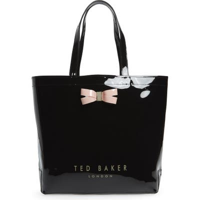 Ted Baker London Large Gabycon Bow Detail Icon Tote - Black