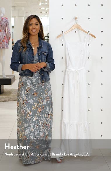 Eyelet Maxi Sundress, sales video thumbnail