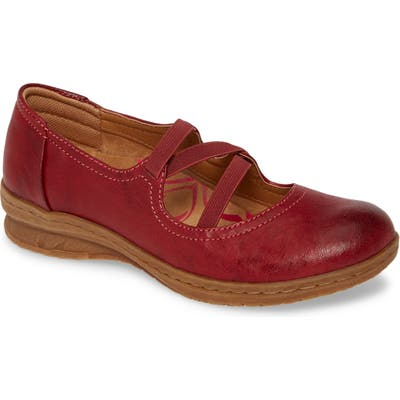 Comfortiva Farmington Flat, Red