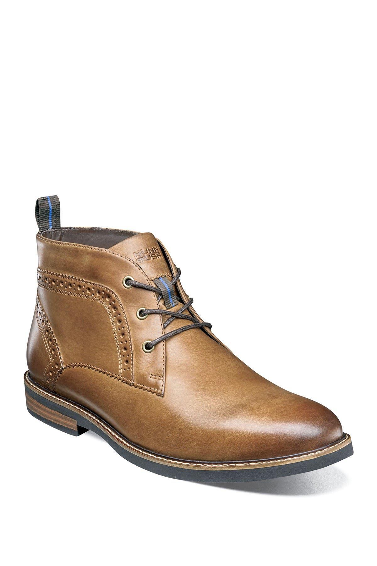 Image of NUNN BUSH Ozark Leather Plain Toe Chukka Boot - Wide Width Available