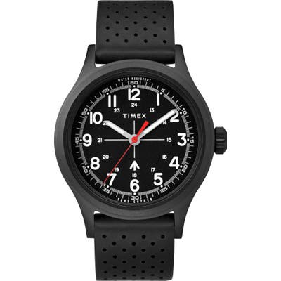 Timex X Todd Snyder The Military Leather Strap Watch, 40Mm