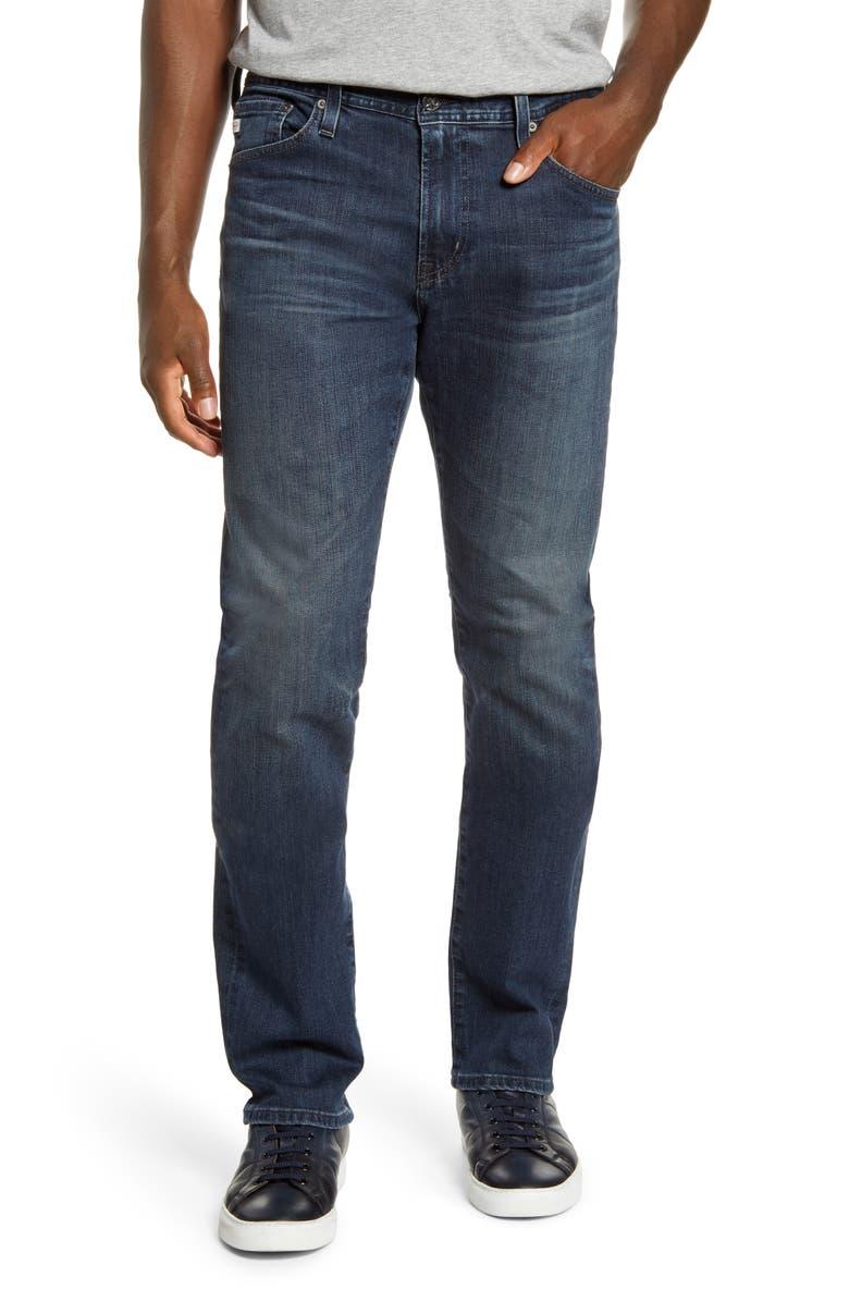 AG Everett Slim Straight Leg Jeans, Main, color, 463