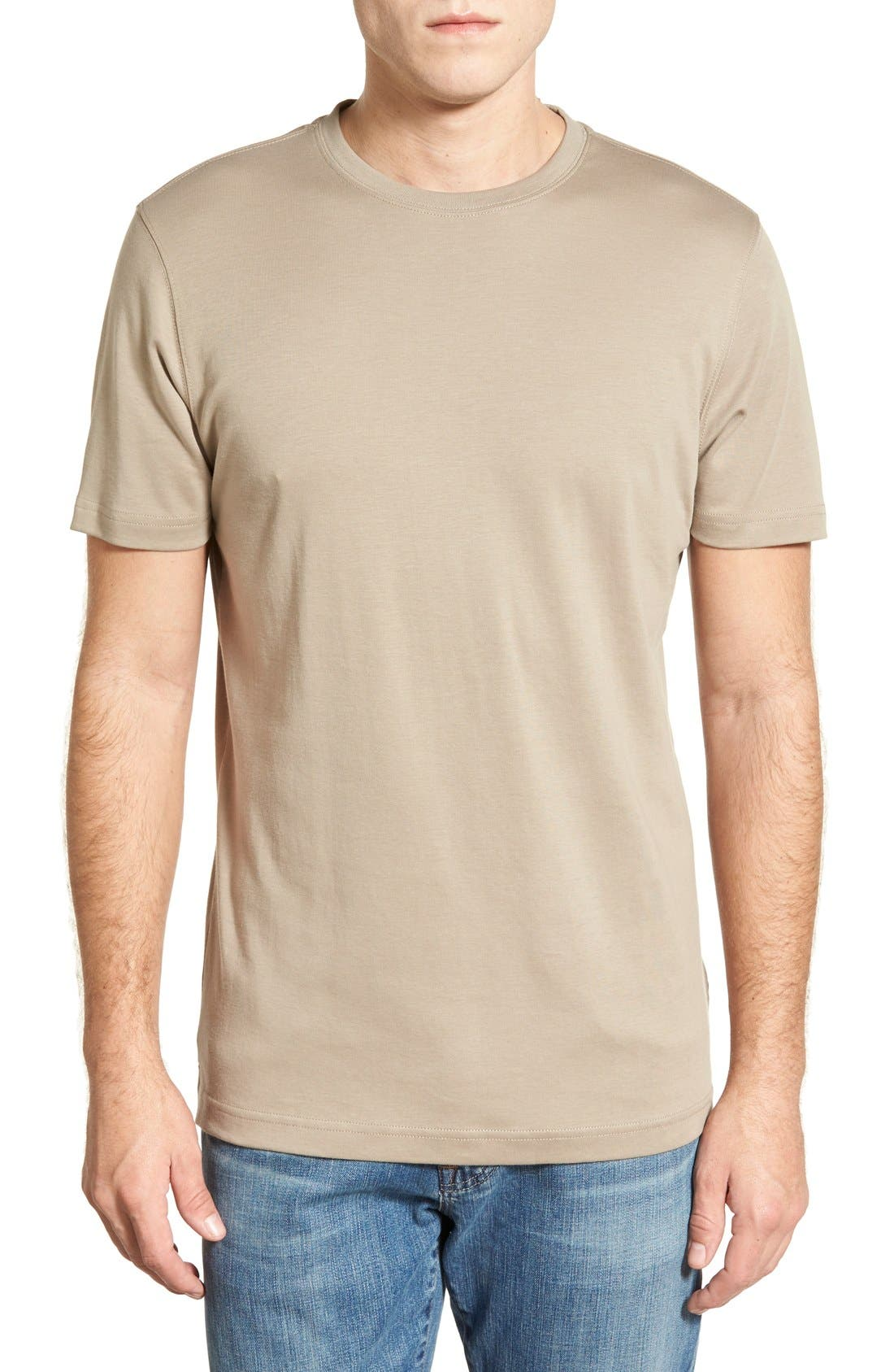 ,                             Georgia Crewneck T-Shirt,                             Main thumbnail 175, color,                             217
