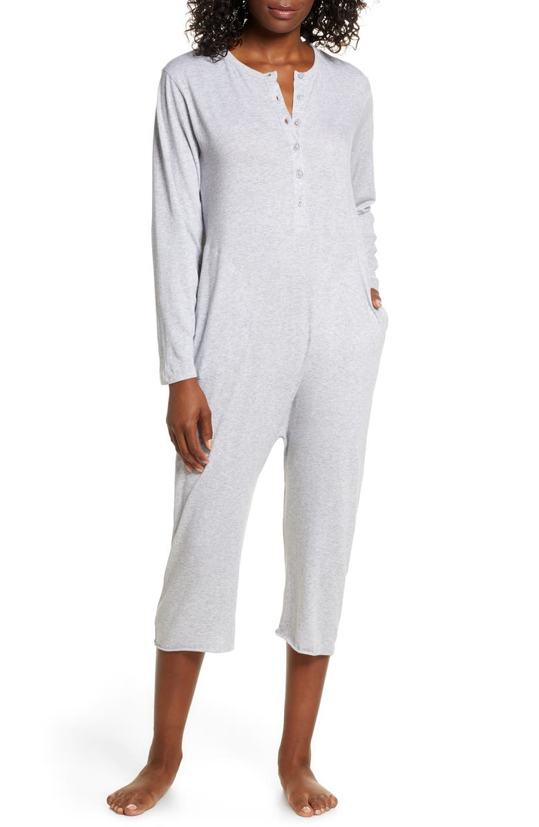 THE GREAT. The Sleeper Crop Jumpsuit, Main, color, 020