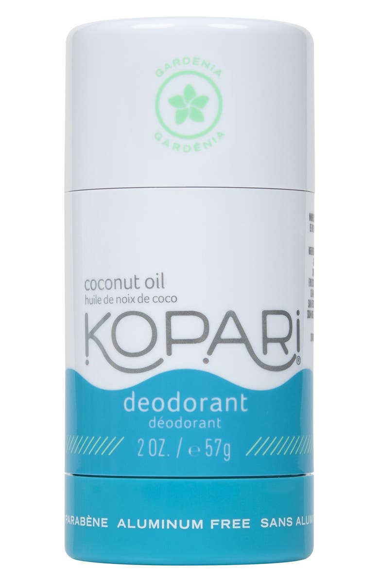 KOPARI Natural Coconut Gardenia Deodorant, Main, color, GARDENIA