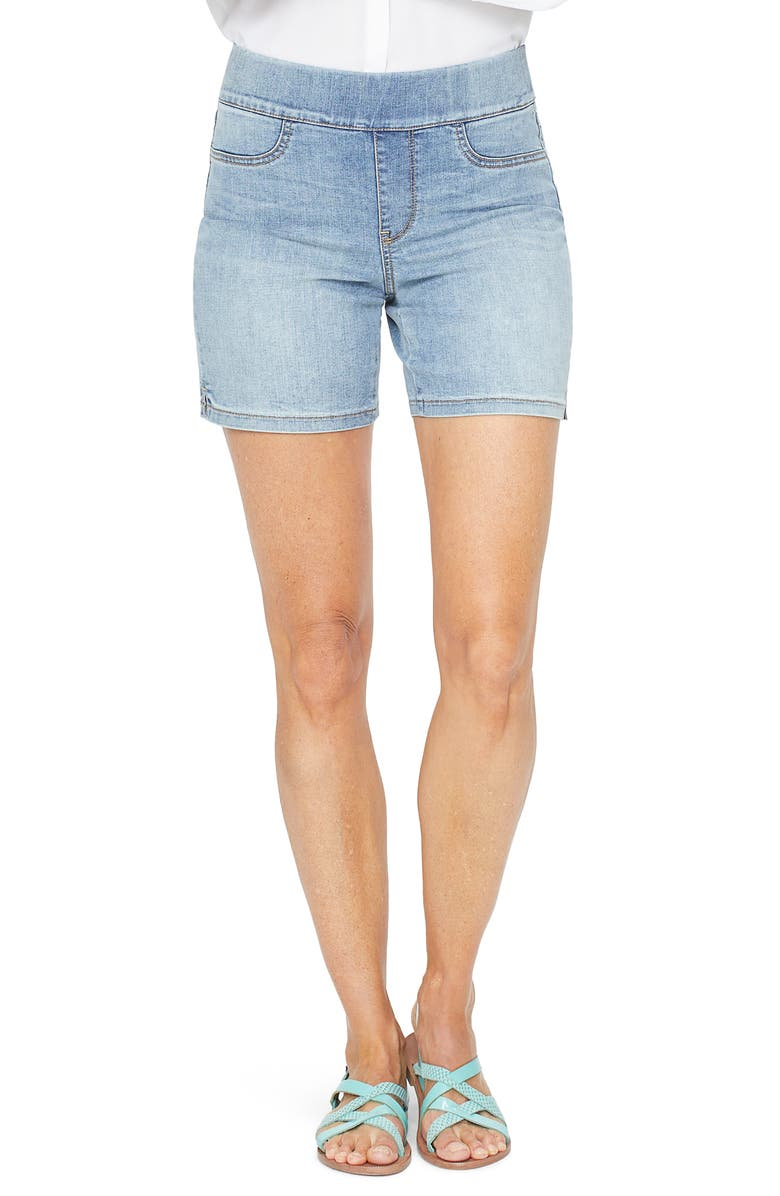 NYDJ Pull-On Denim Shorts, Main, color, 457