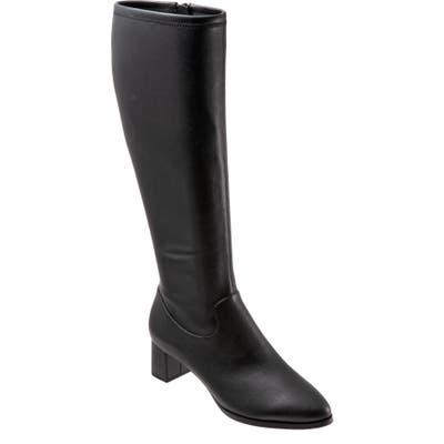 Trotters Kacee Boot Wide Calf W - Black