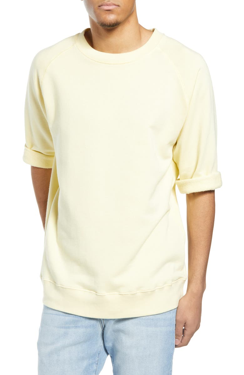 NN07 Tod Sweatshirt, Main, color, PALE SUN
