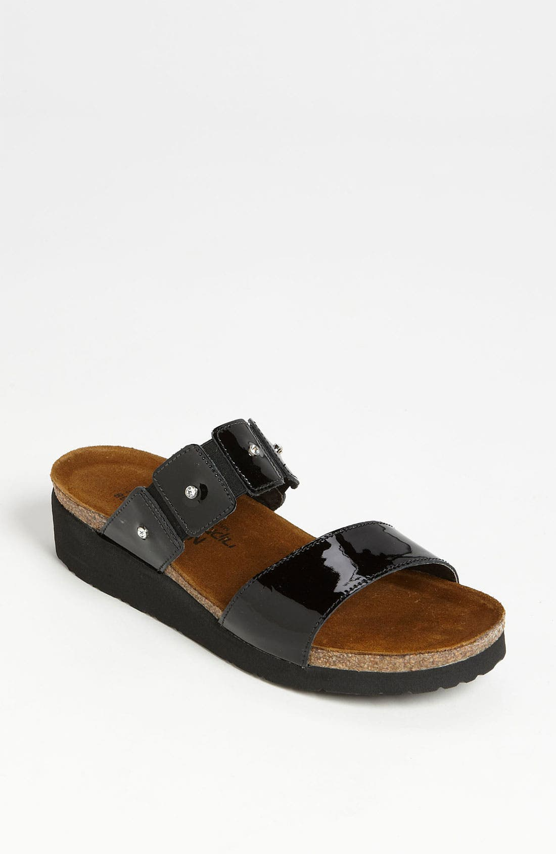 Women's Naot 'Ashley' Sandal, Size 12US - Black