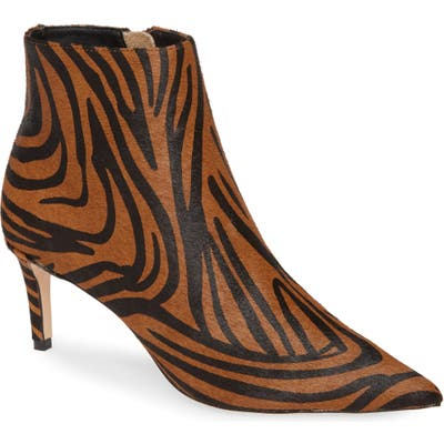 Tony Bianco Gessy Genuine Calf Hair Boot, Brown