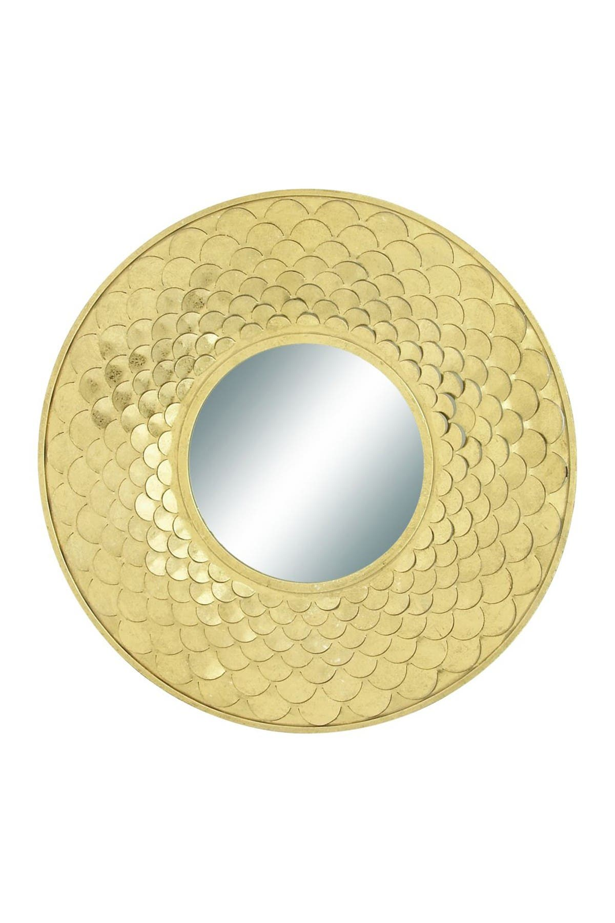 """Image of Willow Row Concentric Metal Wall Mirror - 32"""" Diameter"""