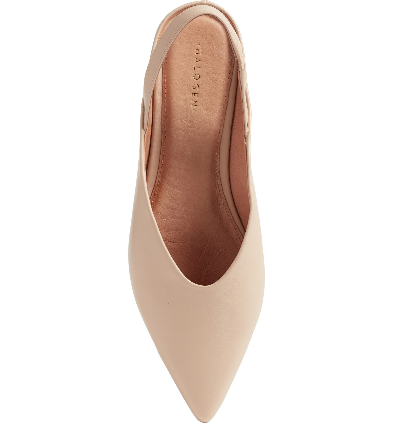 a9f3be0e3a72 Halogen® Sadie Genuine Calf Hair Slingback Flat (Women) | Nordstrom