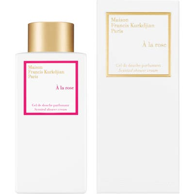 Maison Francis Kurkdjian Paris A La Rose Scented Shower Cream