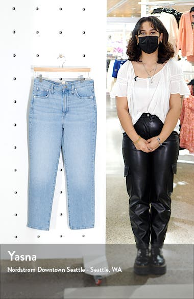 The Perfect High Waist Tapered Jeans, sales video thumbnail