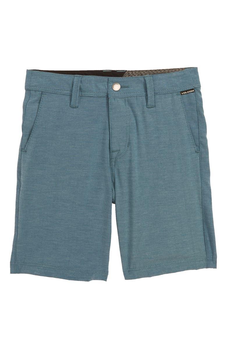 VOLCOM Surf N' Turf Static Hybrid Shorts, Main, color, 414