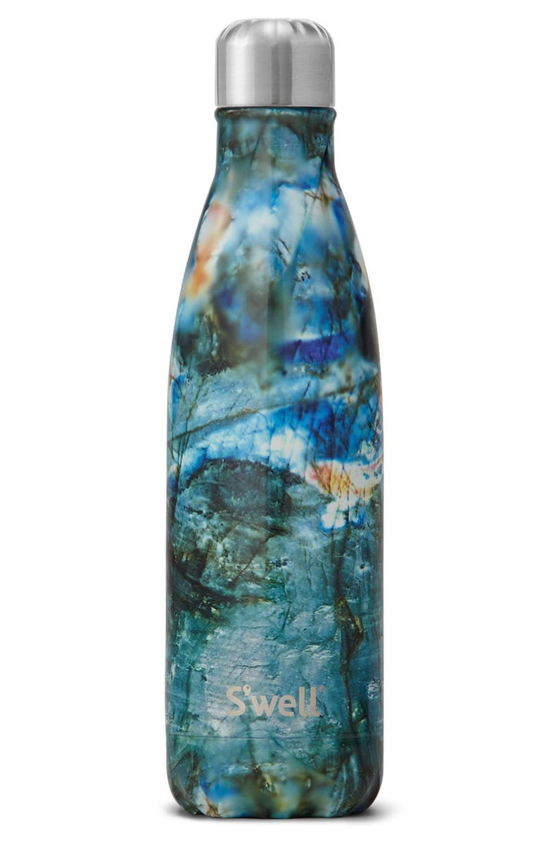 S'WELL Labradorite Insulated Stainless Steel Water Bottle, Main, color, 001