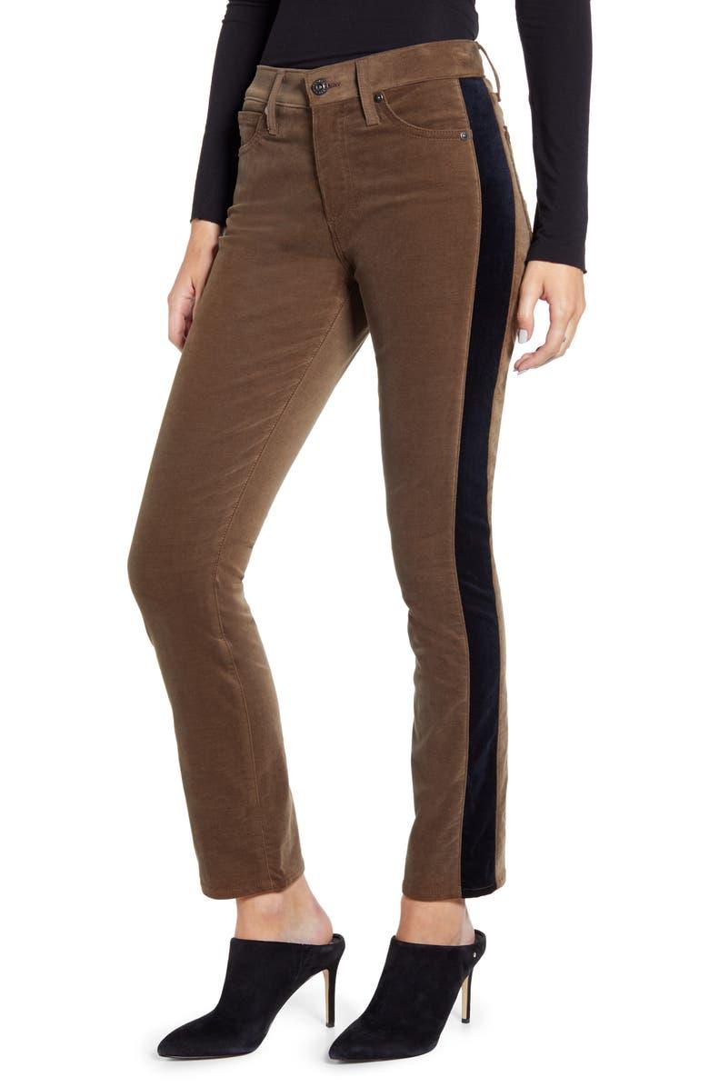 AG Mari Tuxedo Stripe Pants, Main, color, 338