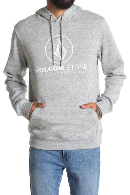 Image of Volcom Round One 3 Pullover Fleece Hoodie