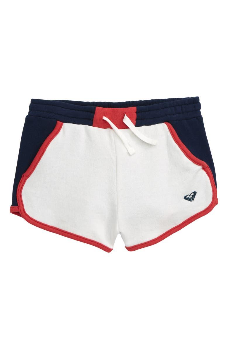 ROXY Sweet Winter Fleece Shorts, Main, color, 101