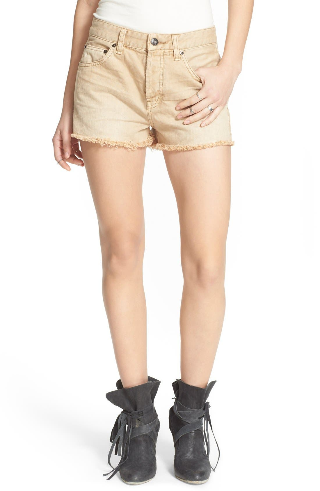 ,                             'Uptown' Denim Shorts,                             Main thumbnail 12, color,                             250