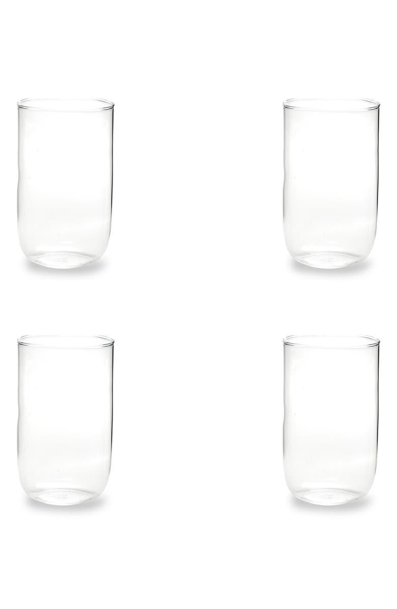 ROSANNA Set of 4 Tumblers, Main, color, GLASS