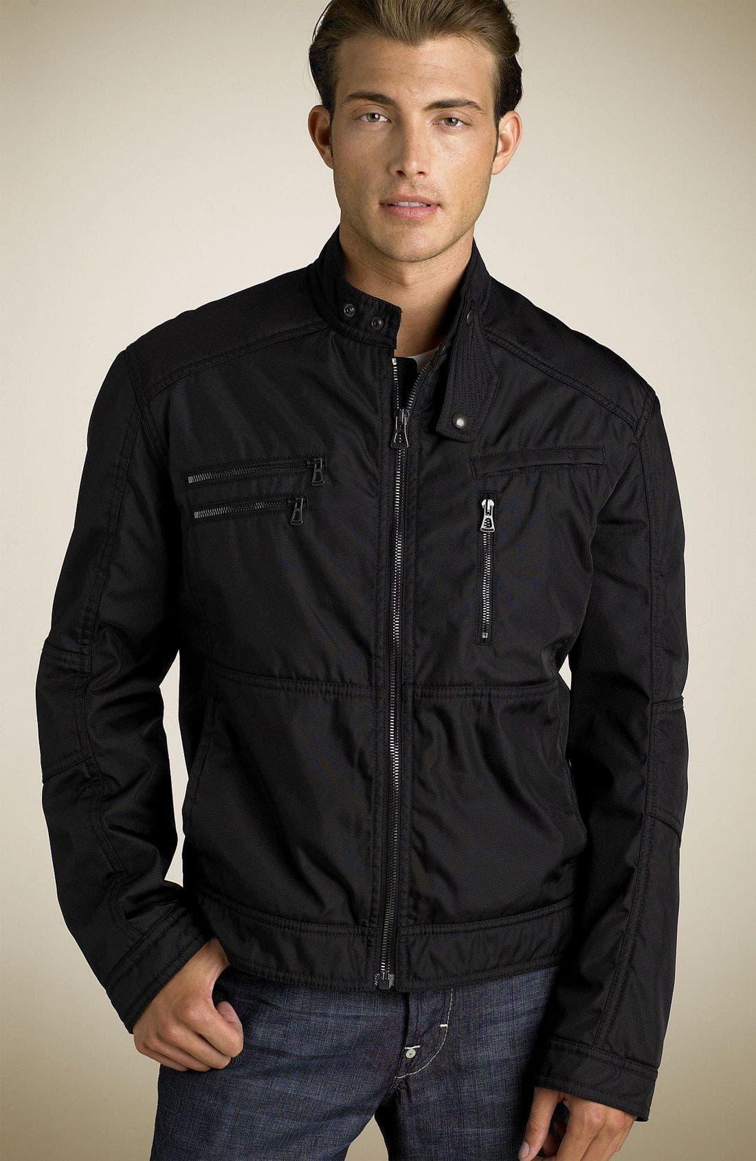 hugo boss nylon jacket