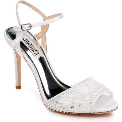 Badgley Mischka Isabella Sandal- White