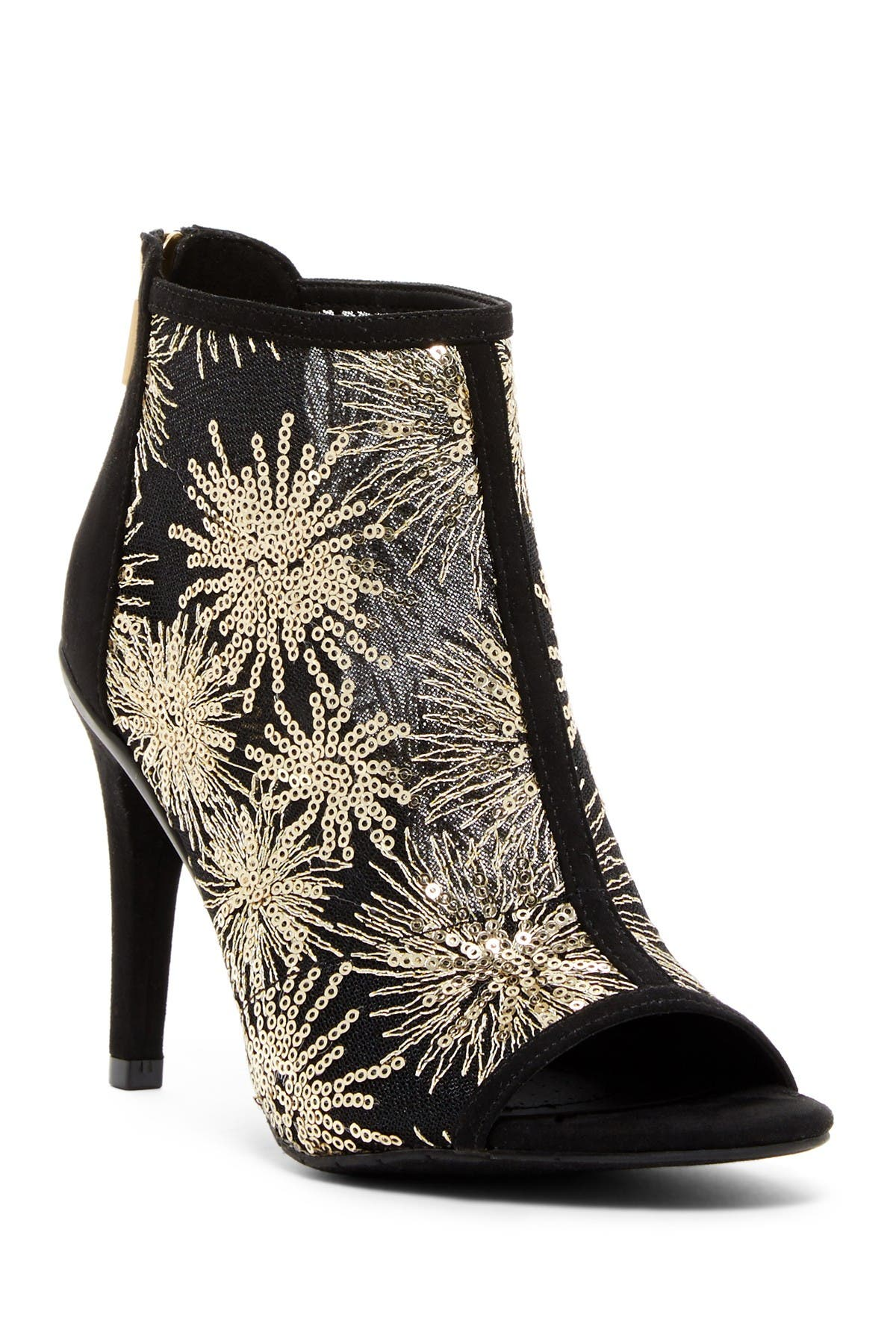 Image of Kenneth Cole Reaction Smash Time Sequins Peep Toe Stiletto Bootie