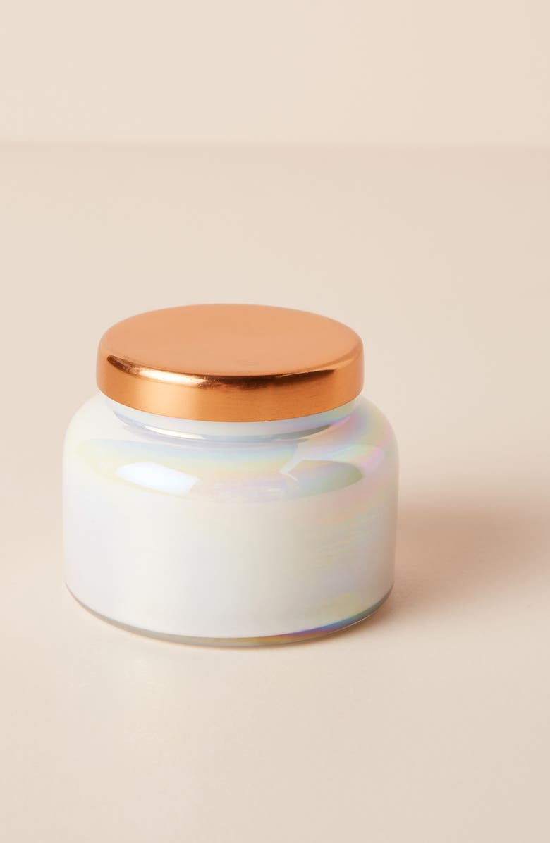 ANTHROPOLOGIE HOME Capri Blue Mini Jar Candle, Main, color, VOLCANO