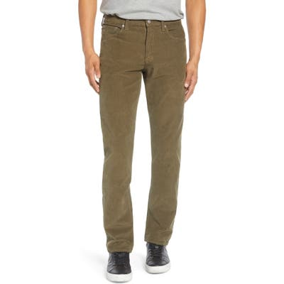 Citizens Of Humanity Gage Slim Straight Leg Corduroy Jeans, Green