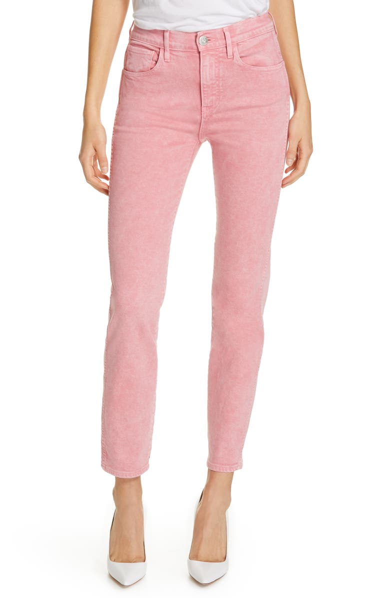 3X1 NYC Stevie Straight Leg Jeans, Main, color, 600
